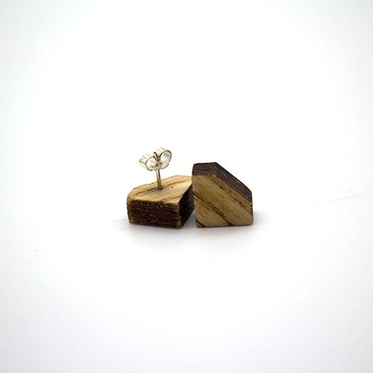 Ohrstecker Lithium Diamant silber Esche 003_1