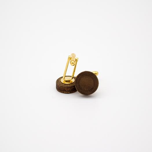 helium Manschette rund Nussbaum Edelstahl gold 011_1