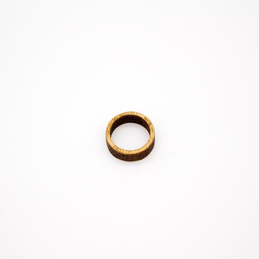 Holzring 16er Ring Unikat Unisex HELIUM Esche 2_2
