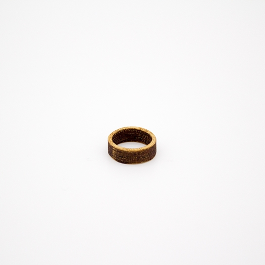 Holzring 16er Ring Unikat Unisex HELIUM Esche 2_1
