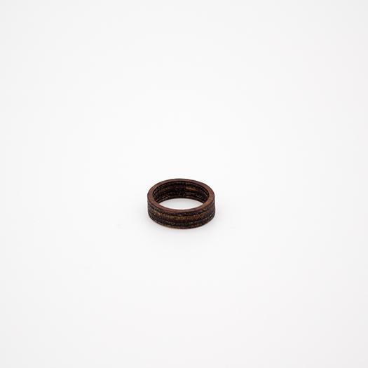 Holzring 16er Ring Unikat Unisex HELIUM Mahagoni 5_1
