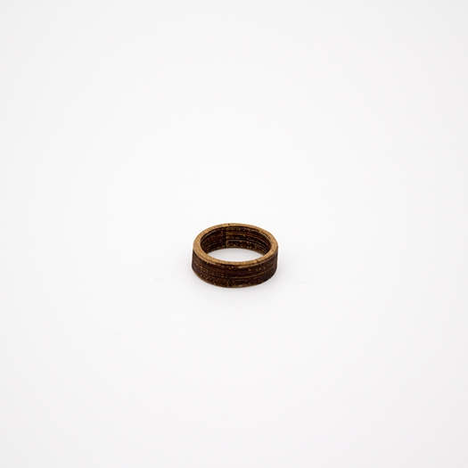 Holzring 16er Ring Unikat Unisex HELIUM Nussbaum 1_1