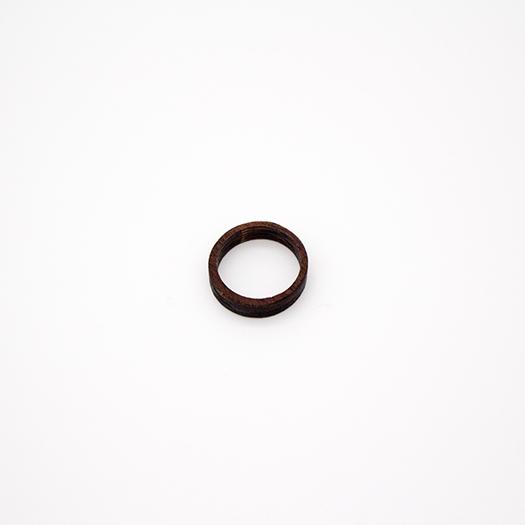 Holzring 17er Ring Unikat Unisex HELIUM Mahagoni 4_2