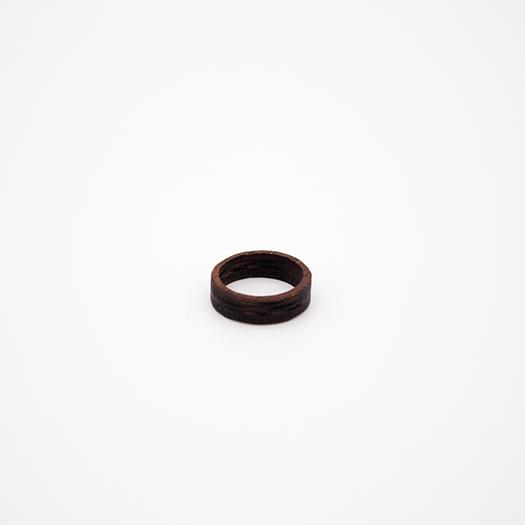 Holzring 17er Ring Unikat Unisex HELIUM Mahagoni 4_1