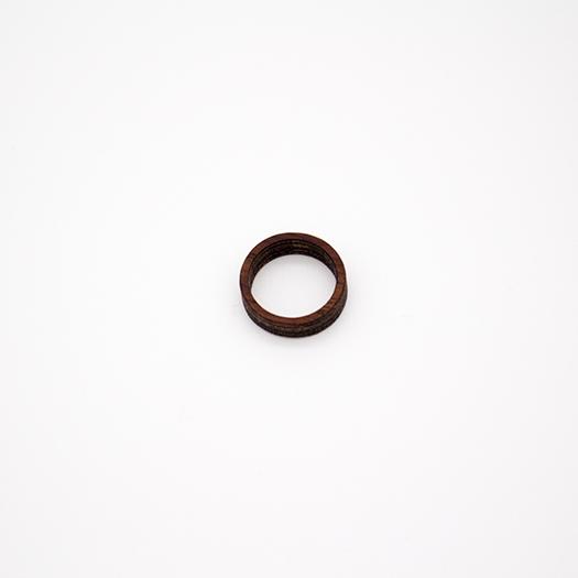 Holzring 16er Ring Unikat Unisex HELIUM Mahagoni 5_2