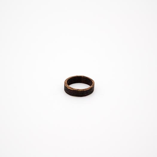 Holzring 17er Ring Unikat Unisex HELIUM Mammut 3_1_