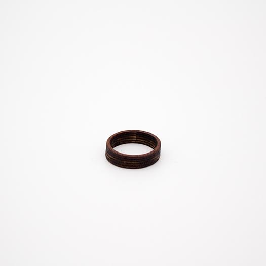 Holzring 18er Ring Unikat Unisex HELIUM Mahagoni 5_2