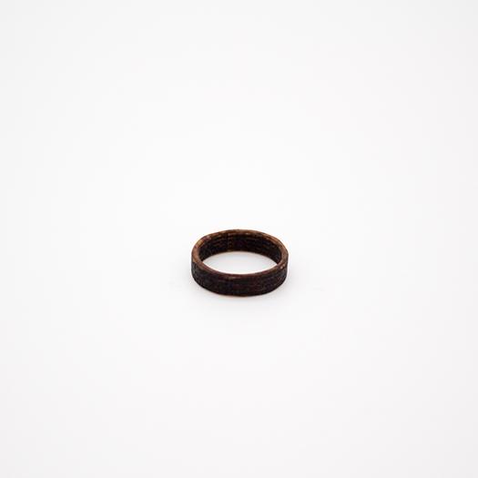 Holzring 18er Ring Unikat Unisex HELIUM Mammutbaum 3_2