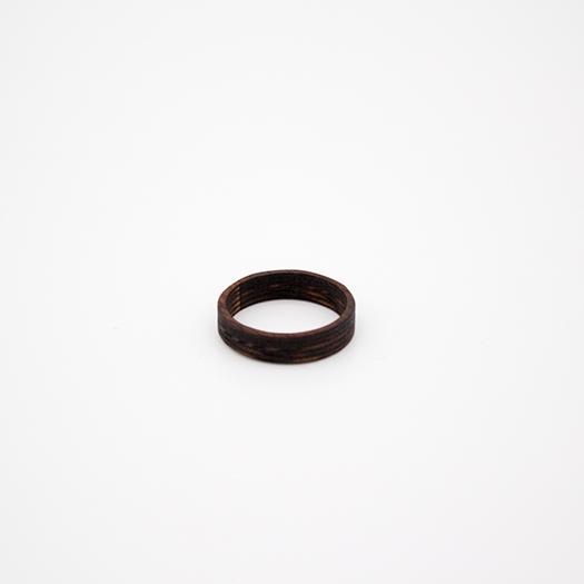 Holzring 22er Ring Unikat Unisex HELIUM Mahagoni 4_2