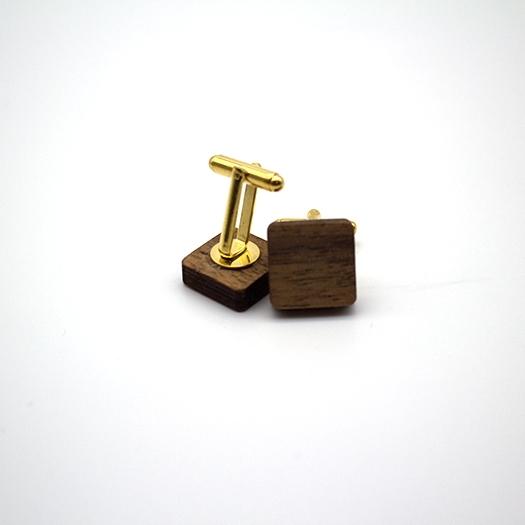 helium Manschette quadrat Nussbaum Edelstahl gold 007_1