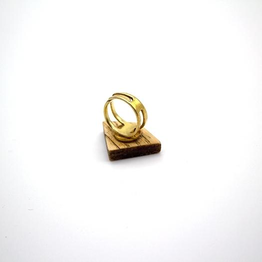 Holzring verstellbar Ring Unikat LITHIUM Deltoid Esche 2_3