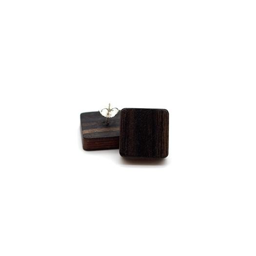 Ohrstecker Helium quadrat silber Makassar 005_1