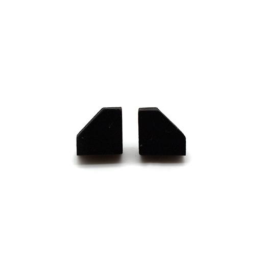 Ohrstecker Lithium Diamant silber Tulpenholz schwarz 007_2